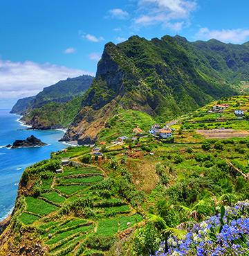 Madeira's rugged coastline