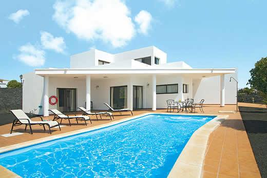 casa blancas in playa blanca lanzarote villa details