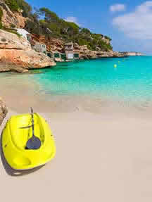 On the beach in Mallorca Image