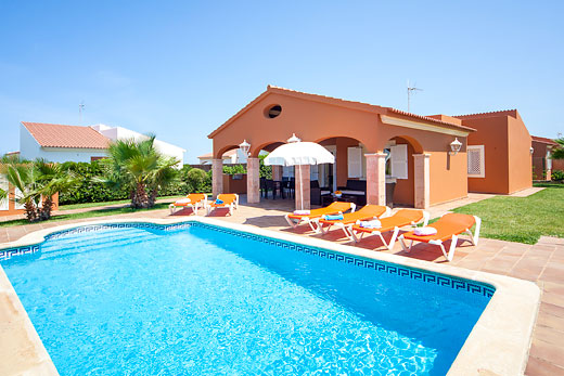 James Villas Menorca >> Mimosa in Cala en Bosch > Menorca   Villa details