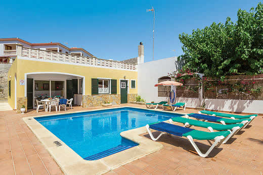 James Villas Menorca >> Mariposa in Arenal d'en Castell > Menorca   Villa details