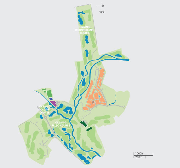 Amendoeira Golf Resort In Algarve Holiday Resorts - Portugal map resorts
