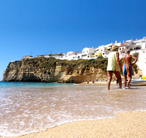 Carvoeiro Town Beach