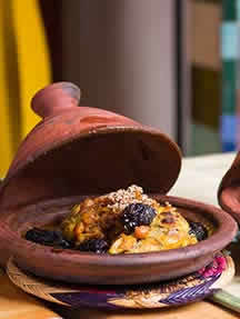 Local cuisine in Marrakech Image