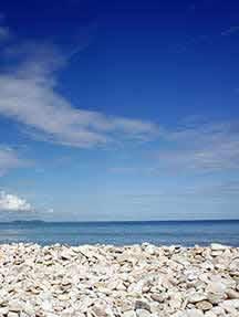On the beach in Corfu Image
