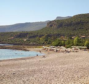 Kardamili Beach