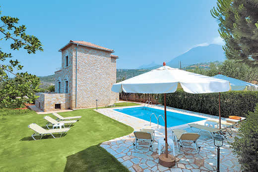 Panorama in Stoupa > Peloponnese | Villa details