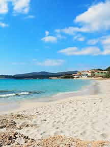 On the beach in Sardinia Image