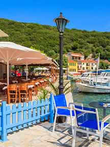 Local cuisine in Ithaka Image