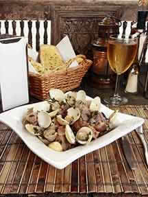 Local cuisine in Douro Valley Image