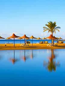 On the beach in Sharm el Sheikh Image