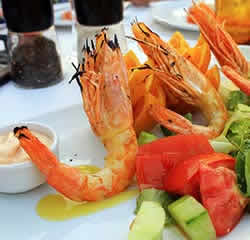 Food and dining in Elounda Image