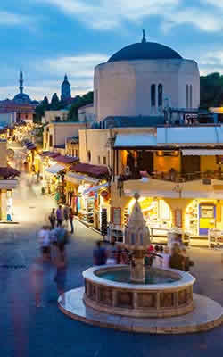 Nightlife in Rhodes Town Image