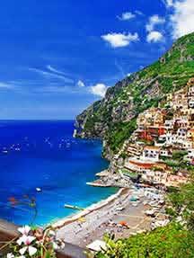 On the beach in Amalfi Coast Image