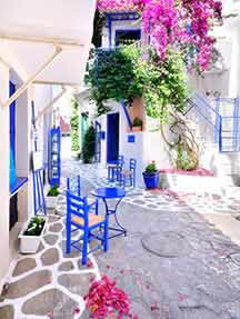Local cuisine in Skiathos Image