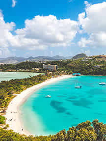 Beaches in Antigua Image