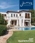 Villas with pools brochure