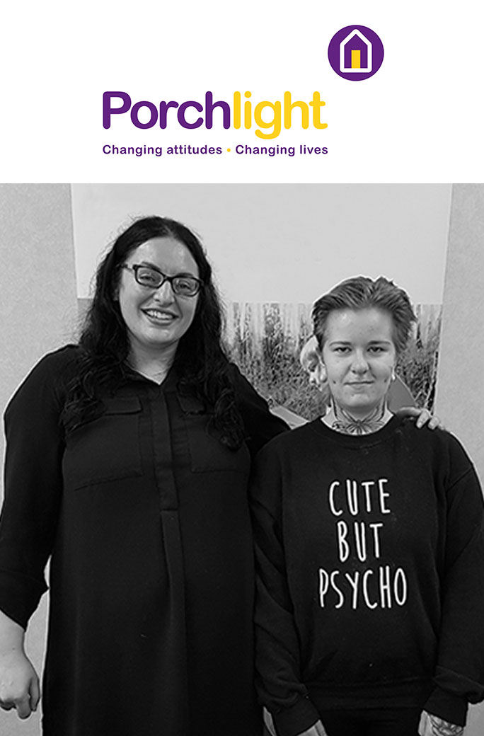 Porchlight, changing attitudes – changing lives