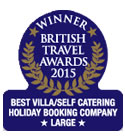 British Travel Awards 2015 - Best Large Villa/Self Catering
