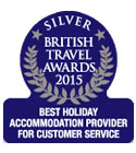 British Travel Awards 2015 - Best Holiday Accommodation