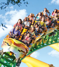 Roller coaster in Florida - Villa Holidays