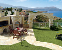 Villas great for barbecues