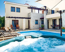Villas with Jacuzzis