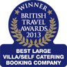 British Travel Awards - 2013