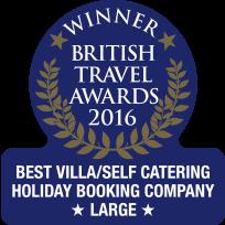 British Travel Awards - 2016