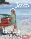 First James Magazine Cover